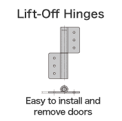 Lift-Off Hinges